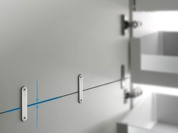 Joining Plates for consistent and accurate door alignment
